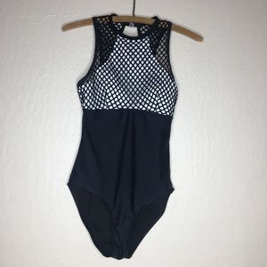 Piha high neck mesh one piece bathing suit #474